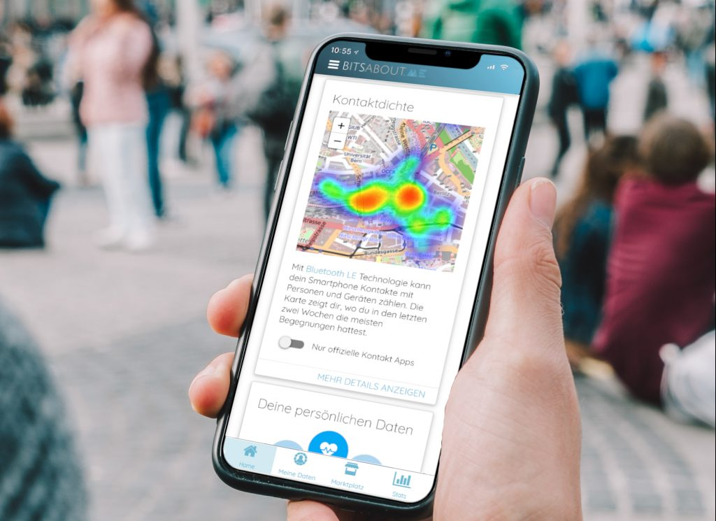 BitsaboutMe Kontaktzähler-App